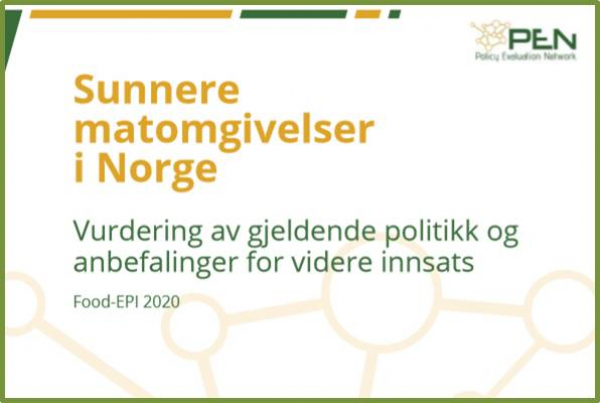 Report on Food-EPI: Norway